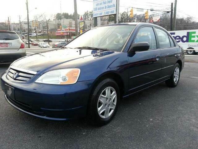 2003 Honda Civic for sale at Stars Auto Finance in Nashville TN
