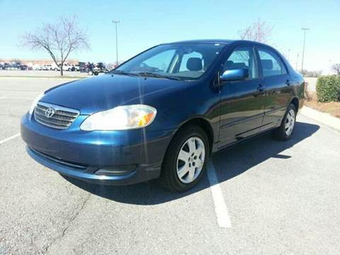 2005 Toyota Corolla for sale at Stars Auto Finance in Nashville TN