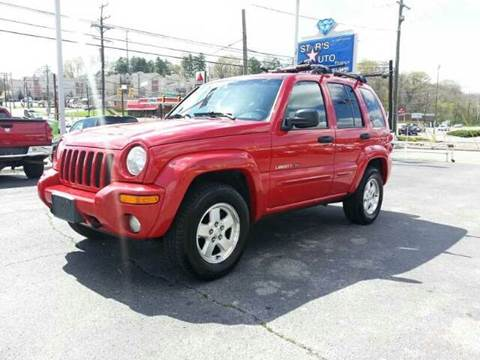 2002 Jeep Liberty for sale at Stars Auto Finance in Nashville TN