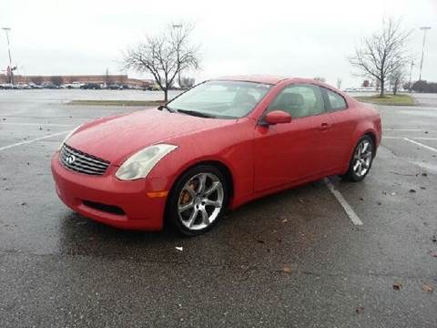 2003 Infiniti G35 for sale at Stars Auto Finance in Nashville TN