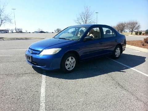 2004 Honda Civic for sale at Stars Auto Finance in Nashville TN