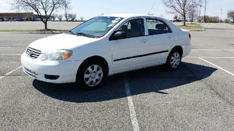 2004 Toyota Corolla for sale at Stars Auto Finance in Nashville TN