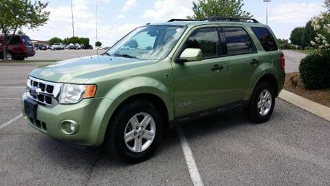 2008 Ford Escape Hybrid for sale at Stars Auto Finance in Nashville TN