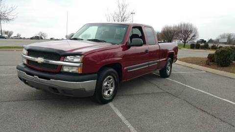 2004 Chevrolet Silverado 1500 for sale at Stars Auto Finance in Nashville TN
