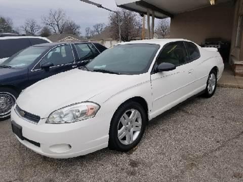 2006 Chevrolet Monte Carlo for sale at Marti Motors Inc in Madison IL