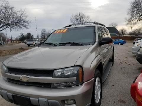 2003 Chevrolet TrailBlazer for sale at Marti Motors Inc in Madison IL