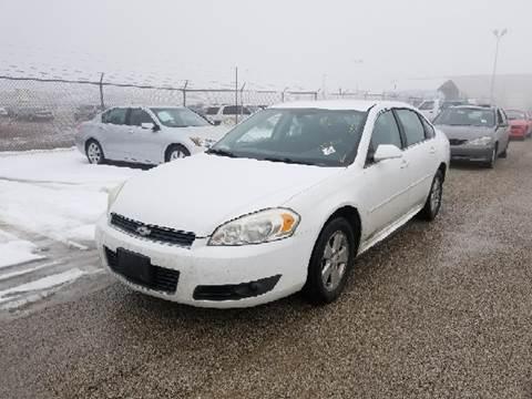2010 Chevrolet Impala for sale at Marti Motors Inc in Madison IL