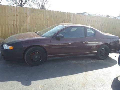 2003 Chevrolet Monte Carlo for sale at Marti Motors Inc in Madison IL