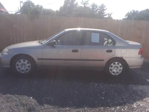 2000 Honda Civic for sale at Marti Motors Inc in Madison IL