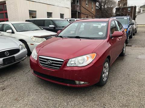 2007 Hyundai Elantra for sale at Marti Motors Inc in Madison IL