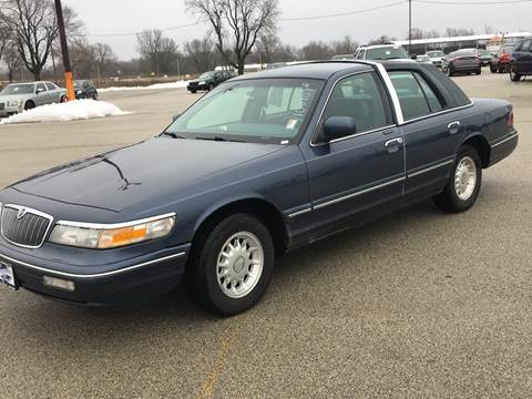 1997 Mercury Grand Marquis for sale at Marti Motors Inc in Madison IL