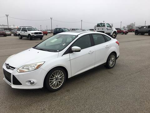 2012 Ford Focus for sale at Marti Motors Inc in Madison IL