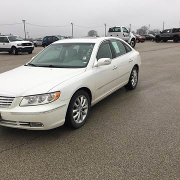 2008 Hyundai Azera for sale at Marti Motors Inc in Madison IL