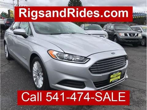 2015 Ford Fusion Hybrid for sale in Grants Pass, OR