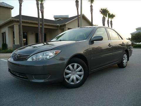 2005 Toyota Camry for sale at Gulf Financial Solutions Inc DBA GFS Autos in Panama City Beach FL