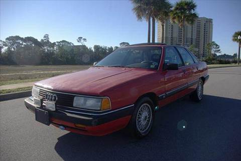 1989 Audi 200 for sale at Gulf Financial Solutions Inc DBA GFS Autos in Panama City Beach FL