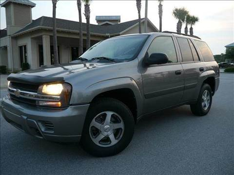 2005 Chevrolet TrailBlazer for sale at Gulf Financial Solutions Inc DBA GFS Autos in Panama City Beach FL