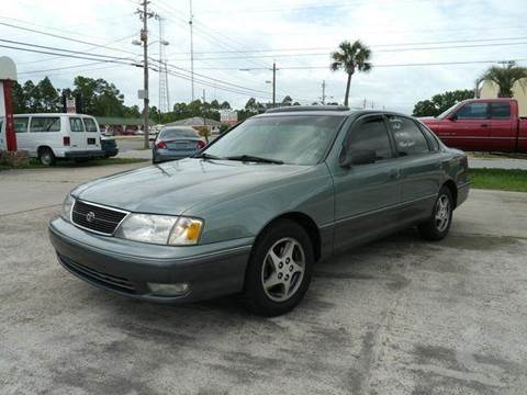 1998 Toyota Avalon for sale at Gulf Financial Solutions Inc DBA GFS Autos in Panama City Beach FL