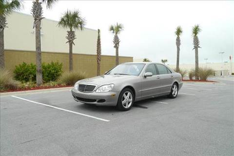 2004 Mercedes-Benz S-Class for sale at Gulf Financial Solutions Inc DBA GFS Autos in Panama City Beach FL