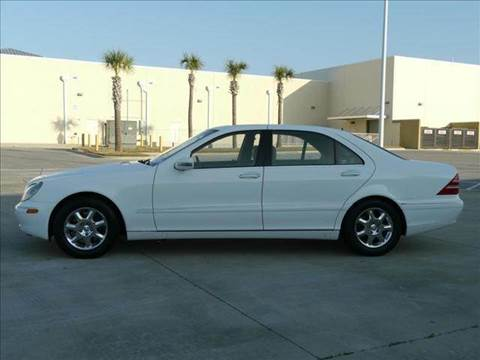 2001 Mercedes-Benz S-Class for sale at Gulf Financial Solutions Inc DBA GFS Autos in Panama City Beach FL