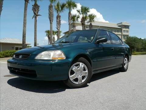 1998 Honda Civic for sale at Gulf Financial Solutions Inc DBA GFS Autos in Panama City Beach FL
