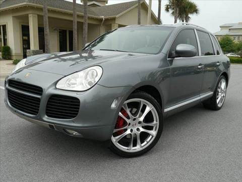 2004 Porsche Cayenne for sale at Gulf Financial Solutions Inc DBA GFS Autos in Panama City Beach FL