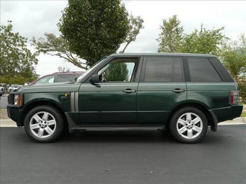 2003 Land Rover Range Rover for sale at Gulf Financial Solutions Inc DBA GFS Autos in Panama City Beach FL