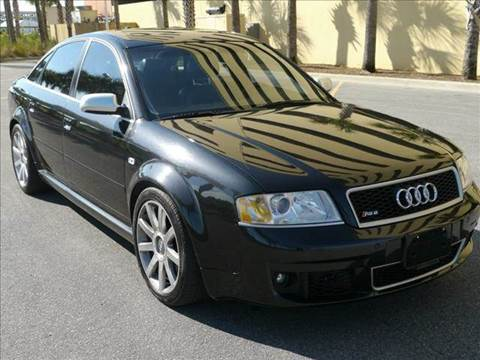 2003 Audi RS 6 for sale at Gulf Financial Solutions Inc DBA GFS Autos in Panama City Beach FL