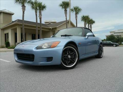 2002 Honda S2000 for sale at Gulf Financial Solutions Inc DBA GFS Autos in Panama City Beach FL