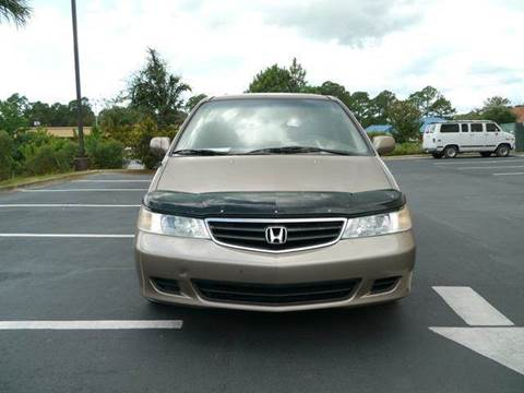 2003 Honda Odyssey for sale at Gulf Financial Solutions Inc DBA GFS Autos in Panama City Beach FL