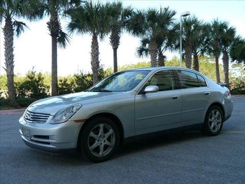 2004 Infiniti G35 for sale at Gulf Financial Solutions Inc DBA GFS Autos in Panama City Beach FL