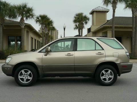 2002 Lexus RX 300 for sale at Gulf Financial Solutions Inc DBA GFS Autos in Panama City Beach FL