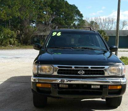 1996 Nissan Pathfinder for sale at Gulf Financial Solutions Inc DBA GFS Autos in Panama City Beach FL