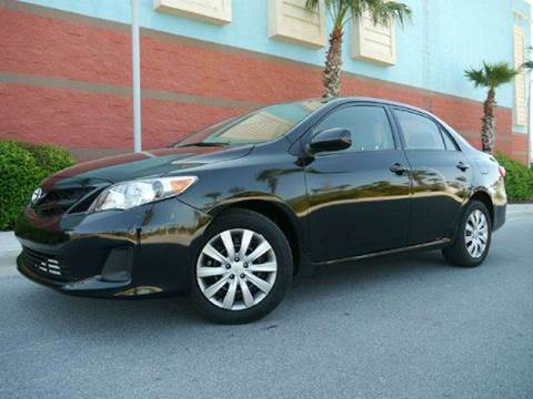 2012 Toyota Corolla for sale at Gulf Financial Solutions Inc DBA GFS Autos in Panama City Beach FL