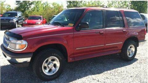 1997 Ford Explorer for sale at Gulf Financial Solutions Inc DBA GFS Autos in Panama City Beach FL