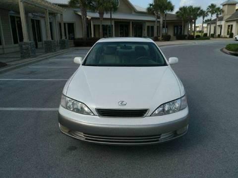 1998 Lexus ES 300 for sale at Gulf Financial Solutions Inc DBA GFS Autos in Panama City Beach FL