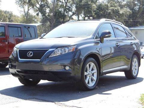 2010 Lexus RX 350 for sale at Gulf Financial Solutions Inc DBA GFS Autos in Panama City Beach FL