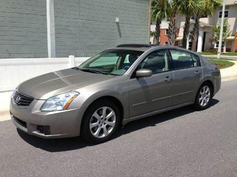 2008 Nissan Maxima for sale at Gulf Financial Solutions Inc DBA GFS Autos in Panama City Beach FL