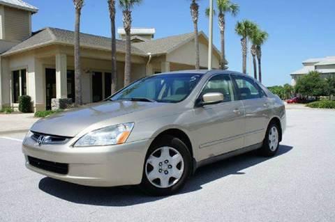 2005 Honda Accord for sale at Gulf Financial Solutions Inc DBA GFS Autos in Panama City Beach FL