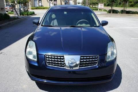 2004 Nissan Maxima for sale at Gulf Financial Solutions Inc DBA GFS Autos in Panama City Beach FL