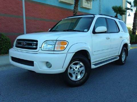 2002 Toyota Sequoia for sale at Gulf Financial Solutions Inc DBA GFS Autos in Panama City Beach FL