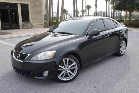 2007 Lexus IS 250 for sale at Gulf Financial Solutions Inc DBA GFS Autos in Panama City Beach FL