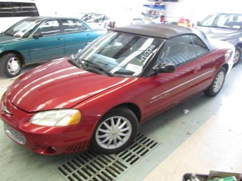 2001 Chrysler Sebring for sale at Gulf Financial Solutions Inc DBA GFS Autos in Panama City Beach FL