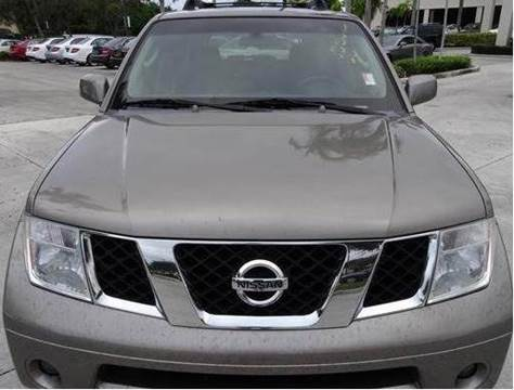 2007 Nissan Pathfinder for sale at Gulf Financial Solutions Inc DBA GFS Autos in Panama City Beach FL