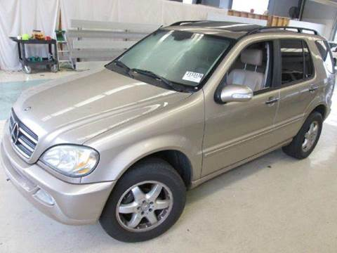 2002 Mercedes-Benz M-Class for sale at Gulf Financial Solutions Inc DBA GFS Autos in Panama City Beach FL