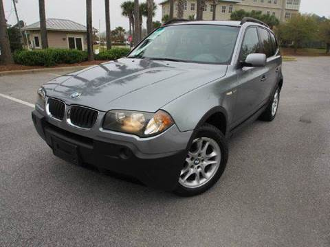 2004 BMW X3 for sale at Gulf Financial Solutions Inc DBA GFS Autos in Panama City Beach FL