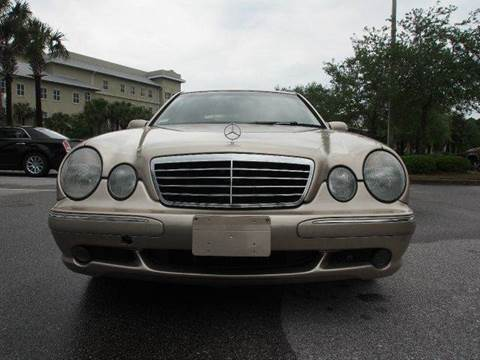 2001 Mercedes-Benz E-Class for sale at Gulf Financial Solutions Inc DBA GFS Autos in Panama City Beach FL