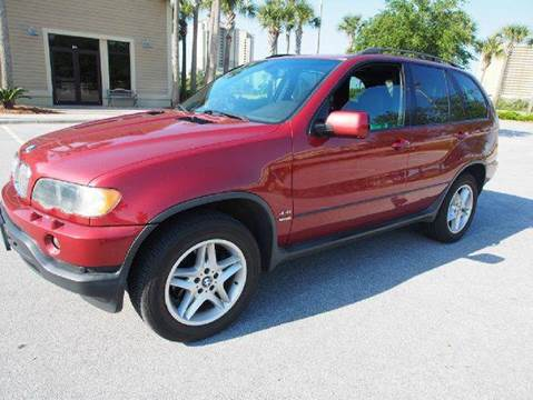 2003 BMW X5 for sale at Gulf Financial Solutions Inc DBA GFS Autos in Panama City Beach FL
