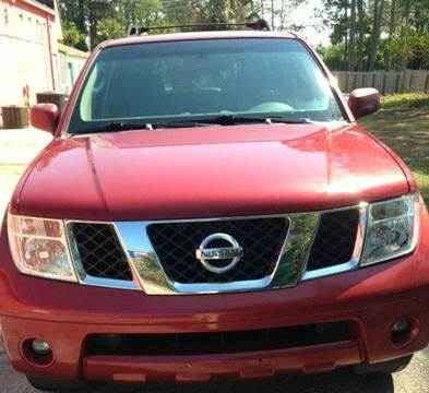 2005 Nissan Pathfinder for sale at Gulf Financial Solutions Inc DBA GFS Autos in Panama City Beach FL