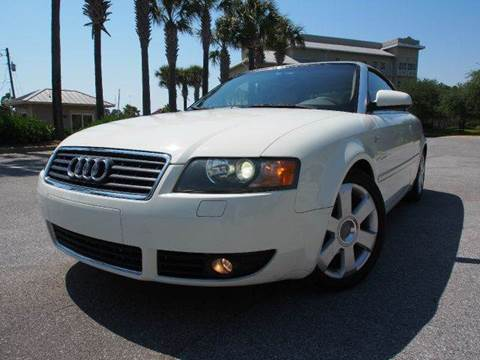 2006 Audi A4 for sale at Gulf Financial Solutions Inc DBA GFS Autos in Panama City Beach FL